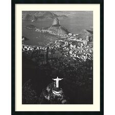 'Cristo Redentor, Morro Do Corcovado, Rio De Janeiro' by Marilyn Bridges Framed Photographic Print