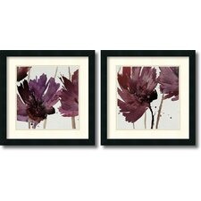 'Room for More' by Natasha Barnes 2 Piece Framed Painting Print Set