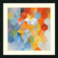 Cubitz I Framed Print By Noah