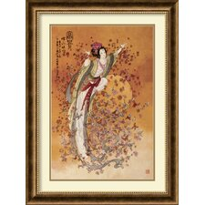 <strong>Amanti Art</strong> Goddess of Wealth Framed Art Print by Chinese