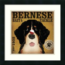 Bernese Bait and Tackle Framed Print By Stephen Fowler