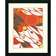 'Vacuoles No. 1' by Jenn Ski Framed Graphic Art