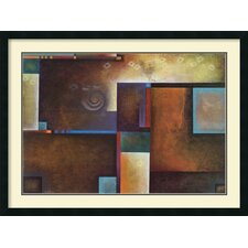 'Satori I' by Mari Giddings Framed Graphic Art