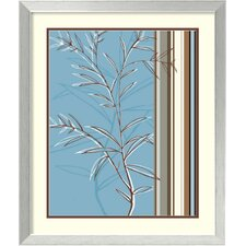 'Linear Reflection II' by Jo Parry Framed Graphic Art