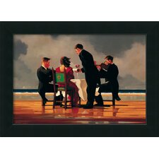 'Elegy for the Dead Admiral' by Jack Vettriano Framed Painting Print