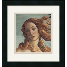 'The Birth of Venus (Detail I)' by Sandro Botticelli Framed Painting Print
