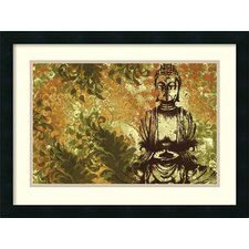 'Zen Garden' by Erin Clark Framed Painting Print