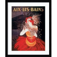 'Aix-Les-Bains' by Leonetto Cappiello Framed Vintage Advertisment