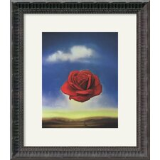 'The Rose' by Salvador Dali Framed Painting Print