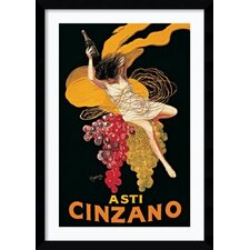 'Asti Cinzano' by Leonetto Cappiello Framed Vintage Advertisement