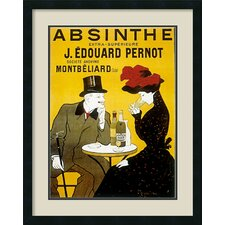 'Absinthe' by Leonetto Cappiello Framed Vintage Advertisement
