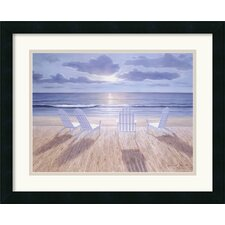 'Friends and Lovers' by Diane Romanello Framed Painting Print
