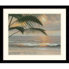'Paradisio' by Diane Romanello Framed Painting Print