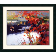 'Afternoon Calm' by Tadashi Asoma Framed Painting Print