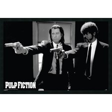Pulp Fiction - Duo Guns Framed Vintage Advertisement