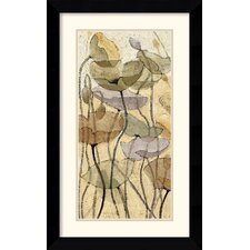 'Fluidity II' by Shirley Novak Framed Painting Print