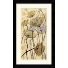 'Fluidity I' by Shirley Novak Framed Painting Print