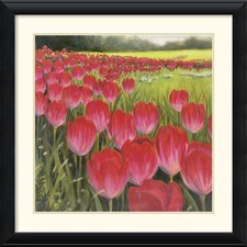 'Gardenscape Two' by Karen Dupre Framed Painting Print