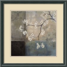 'Spa Blossom I' by Laurie Maitland Framed Painting Print