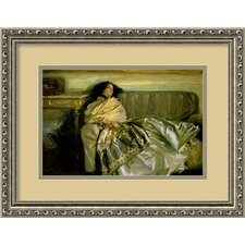 'Nonchaloir (Repose), 1911' by John Singer Sargent Framed Painting Prints