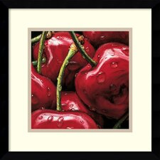 'Cherries' by Alma'Ch Framed Photographic Print