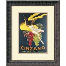 'Cinzano, 1920' by Leonetto Cappiello Framed Vintage Advertisement