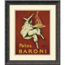 'Pates Baroni (Ca. 1921)' by Leonetto Cappiello Framed Vintage Advertisement