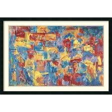 'Map, 1961' by Jasper Johns Framed Art Print