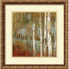 'Alongthe Path I' by Allison Pearce Framed Painting Print