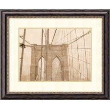 'Golden Age IV' by Teo Tarras Framed Art Print