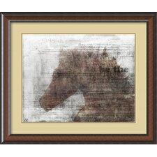 'Upbeat II' by Kay Daichi Framed Art Print