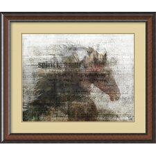 'Upbeat I' by Kay Daichi Framed Art Print