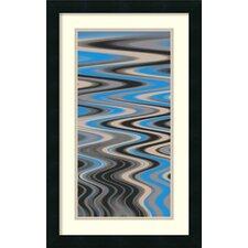 'River Runs Deep II' by Ricki Mountain Framed Art Print