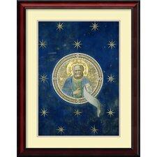 'Prophet Malachi c. 1305-1313' by Giotto di Bondone Framed Art Print