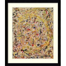 'Shimmering Substance, 1946' by Jackson Pollock Framed Art Print