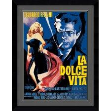 'La Dolce Vita' Framed Art Print