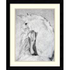 'Duel' by Phyllis Bruchett Framed Art Print