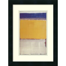 'Number 10, 1950' by Mark Rothko Framed Art Print