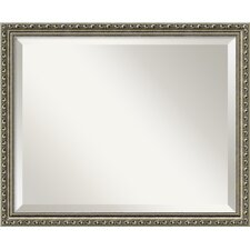 <strong>Amanti Art</strong> Parisian Medium Mirror in Antique Silver