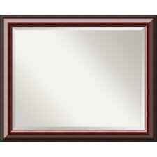 <strong>Amanti Art</strong> Cambridge Large Mirror in Mahogany