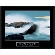 "<strong>Amanti Art</strong> Success-Lighthouse Framed Print Art - 23.02"" x 29.02"""