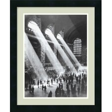 "<strong>Amanti Art</strong> Grand Central Station Framed Print Art - 22.19"" x 18.19"""