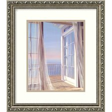 "<strong>Amanti Art</strong> Sea Breeze I by Carol Saxe, Framed Print Art - 15.85"" x 13.91"""