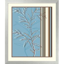 "<strong>Amanti Art</strong> Linear Reflection II by Jo Parry, Framed Print Art - 25.43"" x 21.5"""