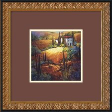 "<strong>Amanti Art</strong> Morning Light Tuscany by Nancy O'Toole, Framed Print Art - 18.17"" x 18.23"""
