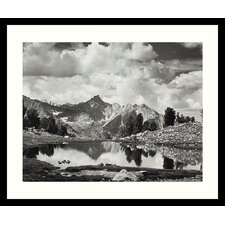 "Mount Clarence King, 1925 by Ansel Adams, Framed Print Art - 21.04"" x 25.04"""