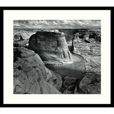 "Canyon de Chelly National Monument by Ansel Adams, Framed Print Art - 23.04"" x 27.04"""