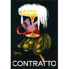 "<strong>Amanti Art</strong> Contratto (ca.1922) by Leonetto Cappiello, Framed Print Art - 37.66"" x 25.66"""