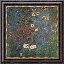 'The Garden' by Gustav Klimt Framed Painting Print