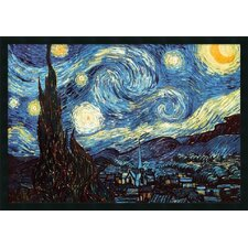"Starry Night by Vincent Van Gogh, Framed Print Art - 25.66"" x 37.66"""